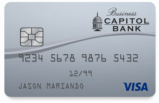 Capitol Bank VISA Business Credit Card