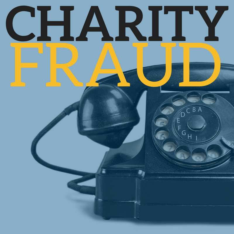 Charity Fraud and a old rotary telephone