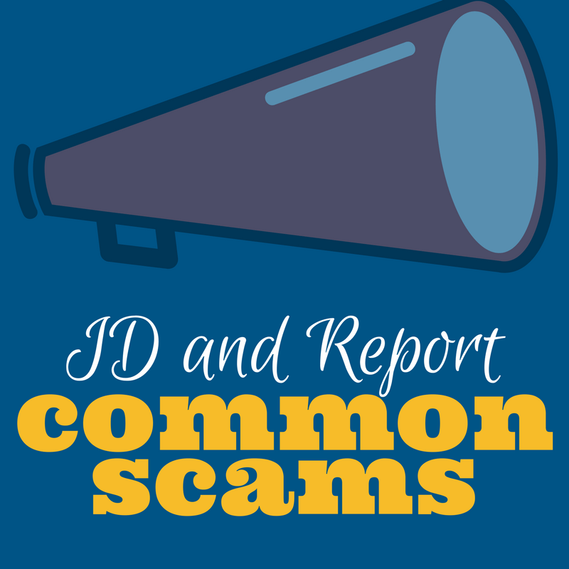 Megaphone - ID and Report Common Scams