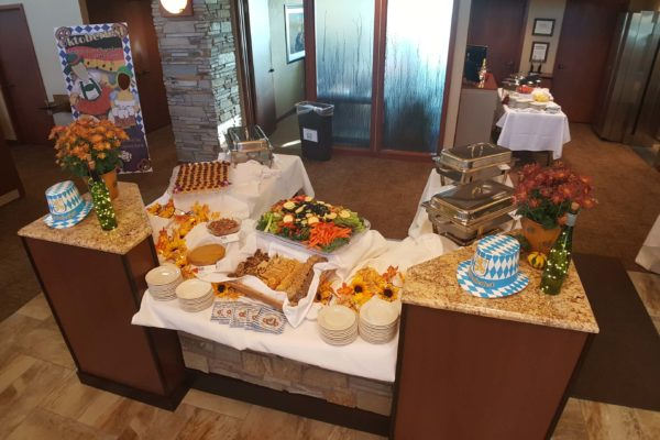 Middleton Chamber of Commerce Business Social Food spread